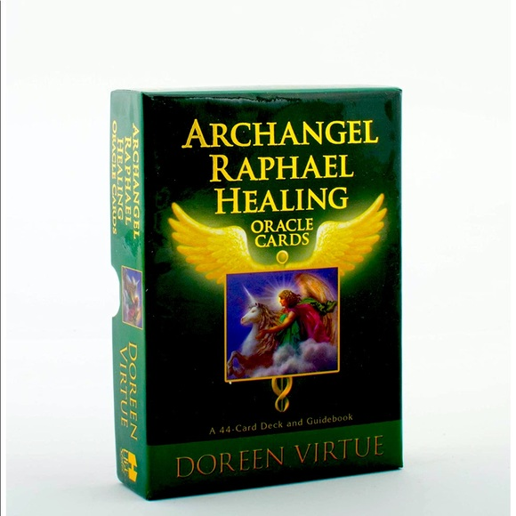 Archangel Raphael Healing Oracle Cards [CD-4]